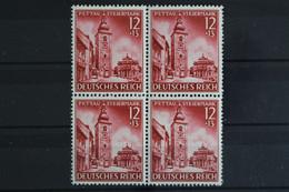 Deutsches Reich, MiNr. 808, 4er Block, Postfrisch / MNH - Neufs