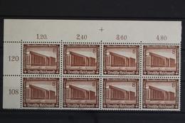 Deutsches Reich, MiNr. 638, 8er Block, Ecke Li. Oben, Postfrisch / MNH - Neufs