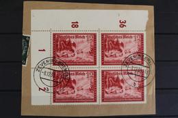Deutsches Reich, MiNr. 708, 4er Block, Ecke Links Oben, Briefstück - Non Classés