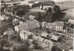 CPSM 07  SAINT-AGREVE  VUE GENERALE AERIENNE PLACE VERDUN - Saint Agrève