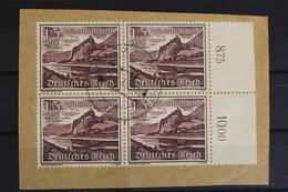 Deutsches Reich, MiNr. 736, 4er Block, Rechter Rand, Briefstück - Non Classés