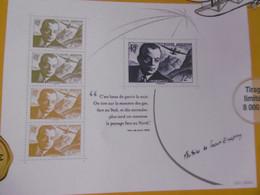 FRANCE 2021 NOUVEAUTE   BLOC ANTOINE DE ST EXUPERY 1900 1944 PORT GRATUIT TIRAGE 8000 HORS ABONNEMENT - Nuevos
