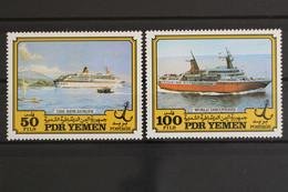 Südjemen, Schiffe, MiNr. 327-328, Postfrisch / MNH - Yemen