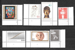 Bundesrepublik Lot Plattennummern Postfrisch** (352) - Se-Tenant