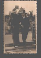 Portret / Portrait - Couple / Koppel - Carte Photo Originale / Originele Fotokaart / Original Photo Card Hilversum - Photographs