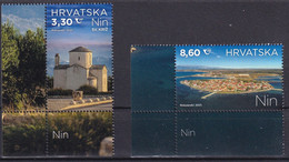 CROATIA 2021,TURISMUS,OLD TOWN NIN,DALMATIA,MNH - Croatie