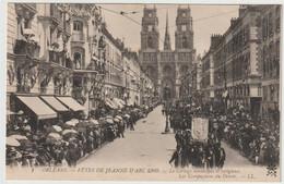 ORLEANS  FETES DE JEANNE D ARC 1909 LES COMPAGNONS DU DEVOIR - Orleans