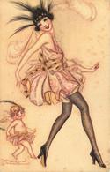 FEMME  CHARME Beauté Féminine  Illustrateur MAUZAN - Mauzan, L.A.