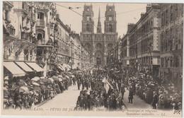 ORLEANS  FETES DE JEANNE D ARC 1909 SAUVETEURS MEDAILLES - Orleans