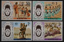 Kenia, MiNr. 70-73, Postfrisch / MNH - Kenia (1963-...)