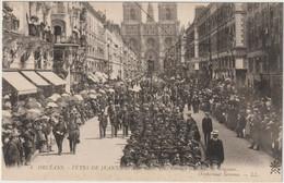 ORLEANS  FETES DE JEANNE D ARC 1909 ORPHELINAT SERENNE - Orleans