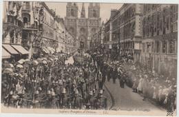 ORLEANS  FETES DE JEANNE D ARC 1909 SAPEURS POMPIERS D ORLEANS - Orleans