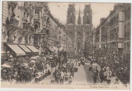 ORLEANS  FETES DE JEANNE D ARC 1909 PAROISSE SAINT PAUL - Orleans