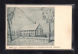 (01/07/21) 67-CPA URBEIS - COLONIE DE VACANCES DE LA PAROISSE CATHOLIQUE - BISCHHEIM - Altri Comuni
