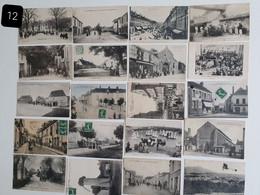 Vends Lot De 20 Cartes Postales Anciennes Animées. - 5 - 99 Cartes