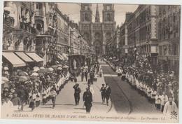 ORLEANS  FETES DE JEANNE D ARC 1909 LES PAROISSES - Orleans