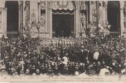 ORLEANS  FETES DE JEANNE D ARC 1909 AVANT DE RENTRER A LA CATHEDRALE - Orleans