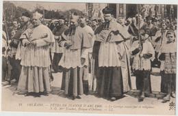ORLEANS  FETES DE JEANNE D ARC 1909 TOUCHET EVEQUE D ORLEANS - Orleans