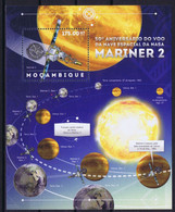 Mozambique Space 2012 50th Anniversary Of The First Successful Venus Flyby By Mariner 2 On August 27, 1962 - Mozambique