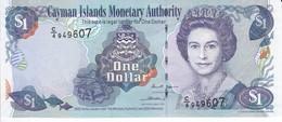 BILLETE DE CAYMAN ISLANDS DE 1 DOLLAR DEL AÑO 2006 SIN CIRCULAR (UNCIRCULATED)  (BANKNOTE) PEZ-FISH - Cayman Islands