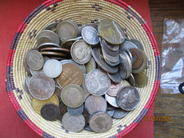Lot World Coins With Some Silver - 1 Kg - Alla Rinfusa - Monete