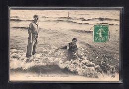 (01/07/21) 83-CPA LA SEYNE SUR MER - SABLETTES LES BAINS - BAIGNEUSES - La Seyne-sur-Mer
