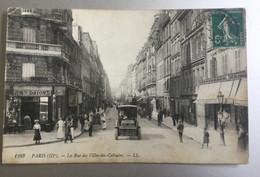 Paris  - La Rue Des Filles-du-Calvaire   (2scans) - Unclassified