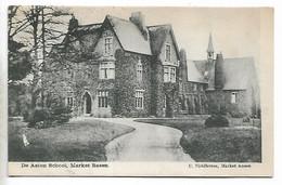 Postcard, Market Rasen, De Aston School, House, Building. 1903. - Altri