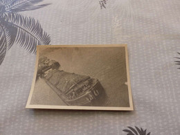 """P-147, Photo,  Péniche """"Petre""""  à Quai Et Son Chargement, - Boats"""