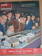 Vie Du Rail 806 Juillet 1961 Mureaux Dijon Biarritz Model Railway Club Colonie Le Petit Bornand Haute Savoie - Trains