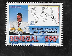 TIMBRE OBLITERE DU SENEGAL DE 2001 N° MICHEL 1943 - Senegal (1960-...)
