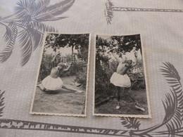 P-156,  2 Photos , Jeune Garçon Dansant En Tutu, Curiosa - Unclassified