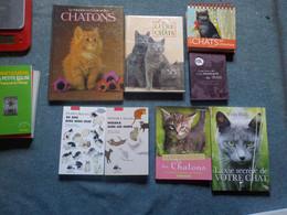 Chat Chats Lot De 8 Livres - Animaux