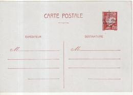 """FRANCE : ENTIER POSTAL . 1F20 . TYPE PETAIN . CP .  SURCHARGE  . """" 18/11/44 LIBERATION DELLE """" . 1944 . - Cartoline Postali E Su Commissione Privata TSC (ante 1995)"""