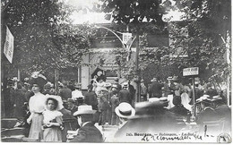 18 - BOURGES - N° 245 - ROBINSON - LE BAL - Circulé 1908 - - Bourges