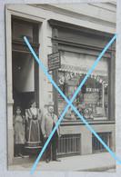 Photo  OOSTENDE Commerce Epicerie Depla Soeurs 1912 Rue De Madrid ? Kust - Lugares