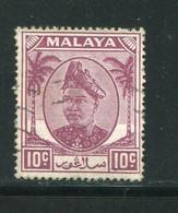 SELANGOR- Y&T N°53- Oblitéré - Selangor