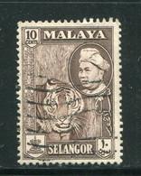 SELANGOR- Y&T N°84- Oblitéré - Selangor