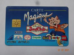 CARTE A PUCE CHIP CARD CARTE FIDÉLITÉ CARTE MAGIQUE JOUECLUB BORDEAUX 33 GIRONDE - Cartes De Fidélité Et Cadeau