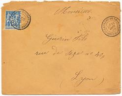 RHONE ENV 1892 ST LAURENT DE CHAMOUSSET TYPE 18 SUR SAGE - 1877-1920: Semi Modern Period