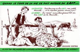 Buvard Promotion Du Lait. - L