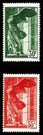N°354/55 ** Paire Victoire De Samothrace, TTB - Unused Stamps