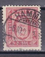 Dänemark 1899 - Dienstmarke Mi.Nr. 6 Y B - Gestempelt Used - Dienstzegels