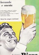 (pagine-pages)PUBBLICITA' BIRRA    L'europeo1959/712. - Altri