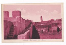 Jolie CPSM Années 1930-1940, Maroc, Agair, Les Remparts Dans La Casbah - Agadir