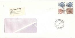 RACCOMANDATA ANNULLO MILANO 19 VIA CARDANO - 1971-80: Poststempel