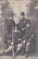 FOTOKAART GENOMEN IN 1911 - Personen