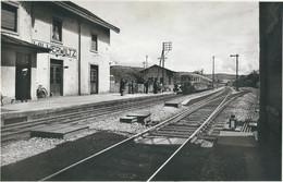 WILWERWILTZ : La Gare - TRES RARE CPA - Cachet De La Poste 1951 - Other