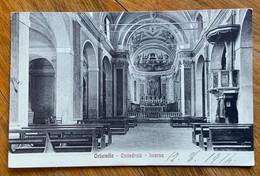 ORBETELLO - CATTEDRALE INTERNO - PER NETTUNO IN DATA 12/8/14 - Grosseto