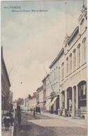 Vilvoorde - Volkshuis In De Mechelsestraat (gekleurde Versie) (gelopen Kaart Met Zegel) - Vilvoorde